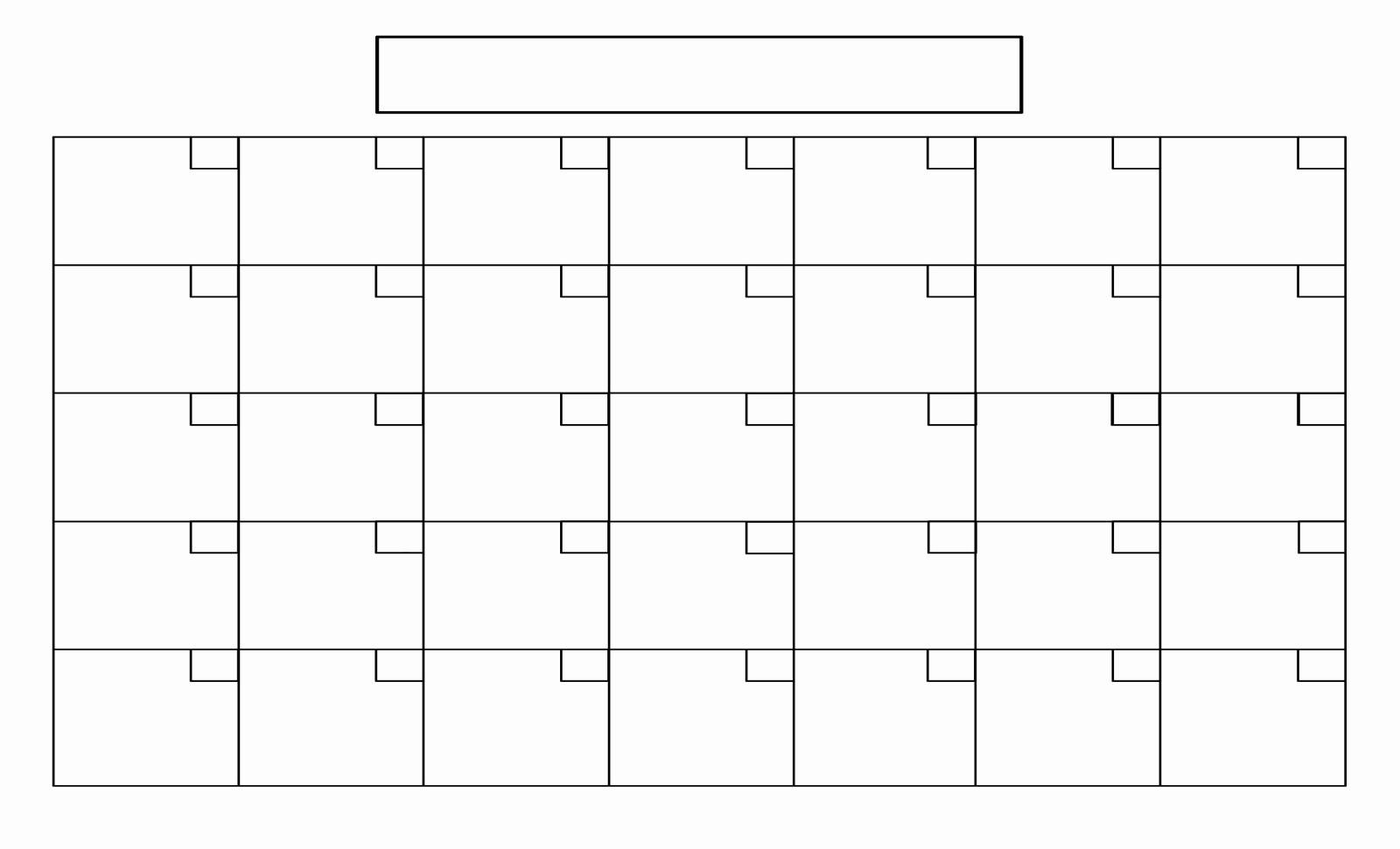 Fill In Calendar Template | Example Calendar Printable