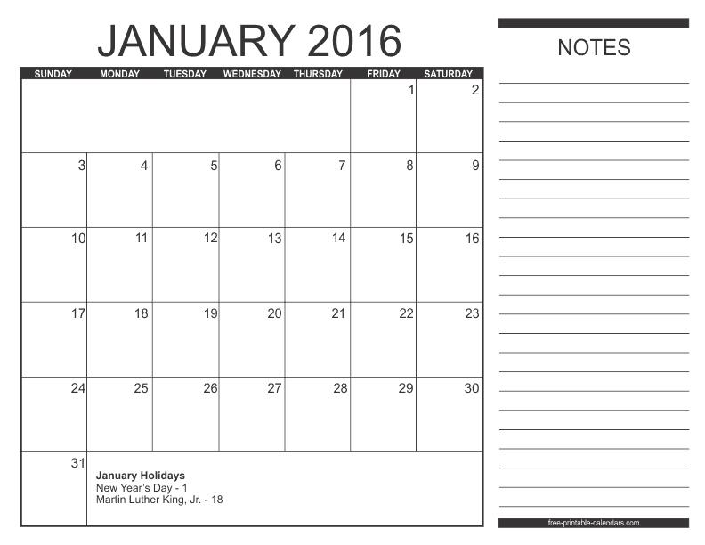 Free Calendars To Print | Pdf Calendars