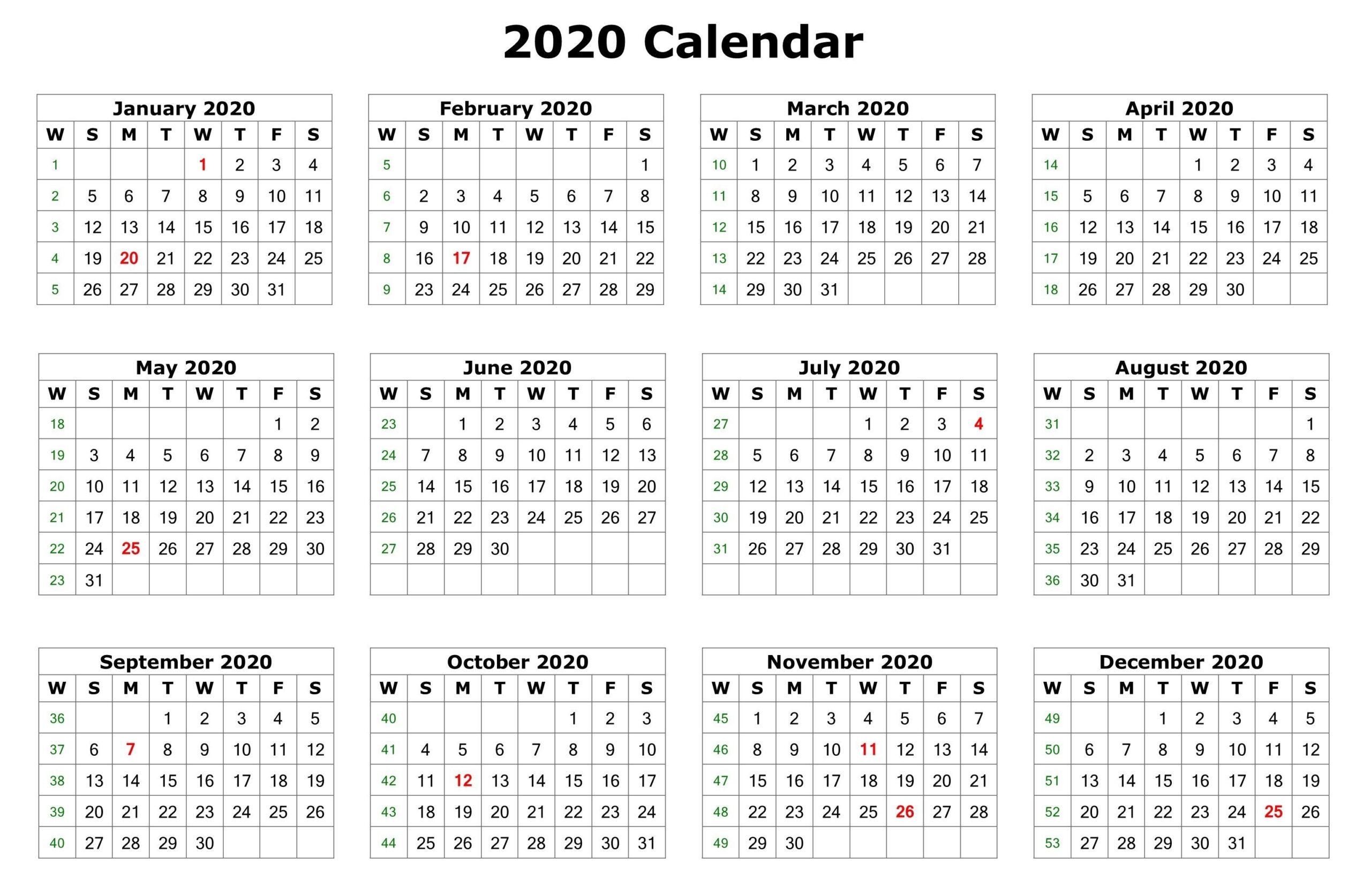 Free Printable 2019-2020 Nfl Season Schedule   Calendar