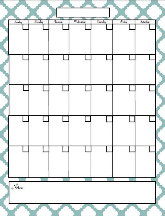 Free Printable Blog Planner | Organization | Blank