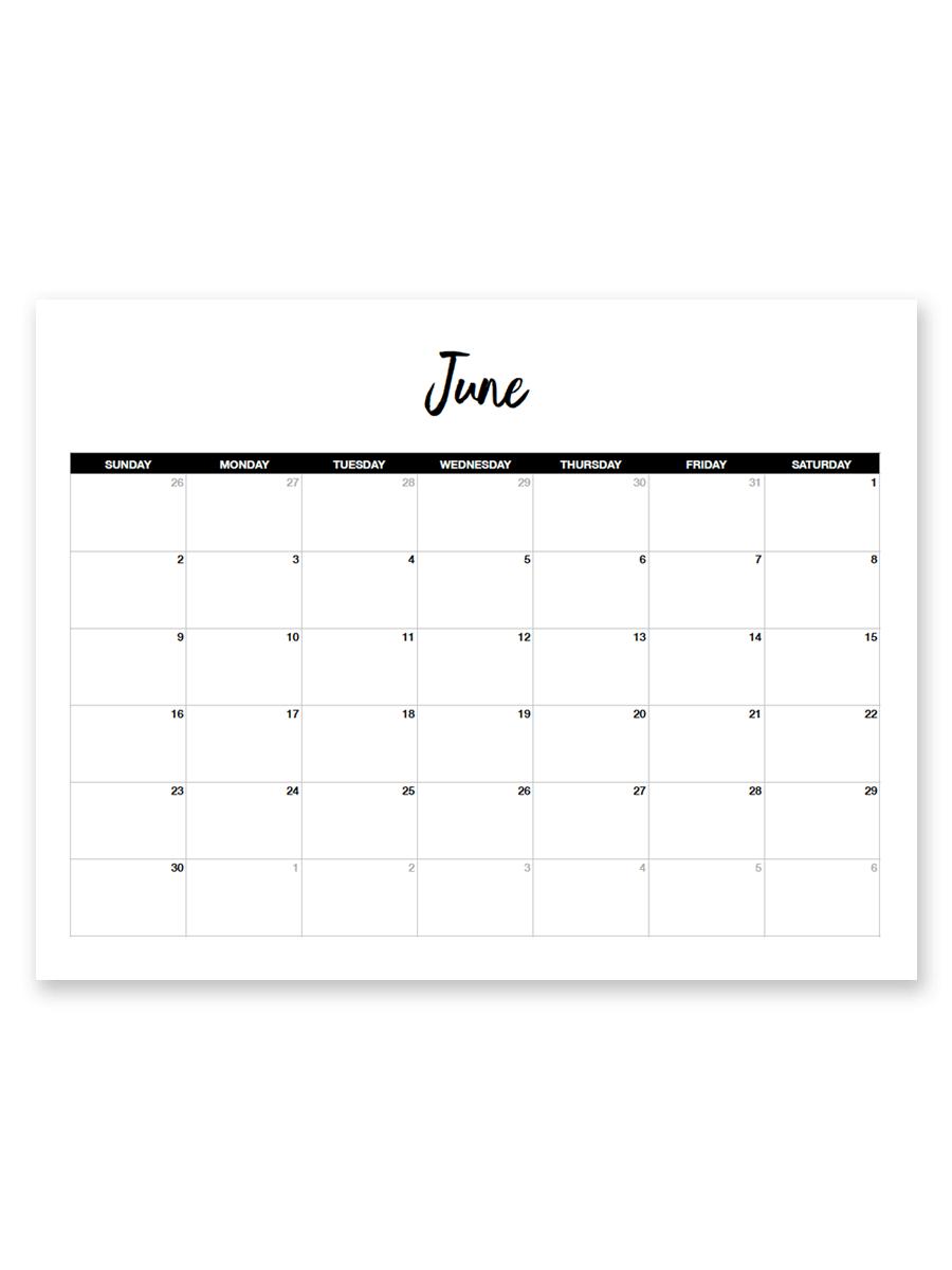 Free Printable Calendar 8.5 X 11 | Calendar Printables