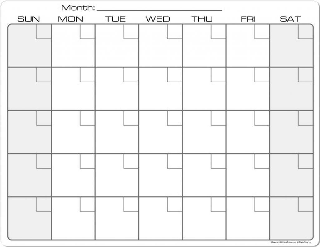 Free Printable Calendar 8.5 X 11 | Month Calendar Printable
