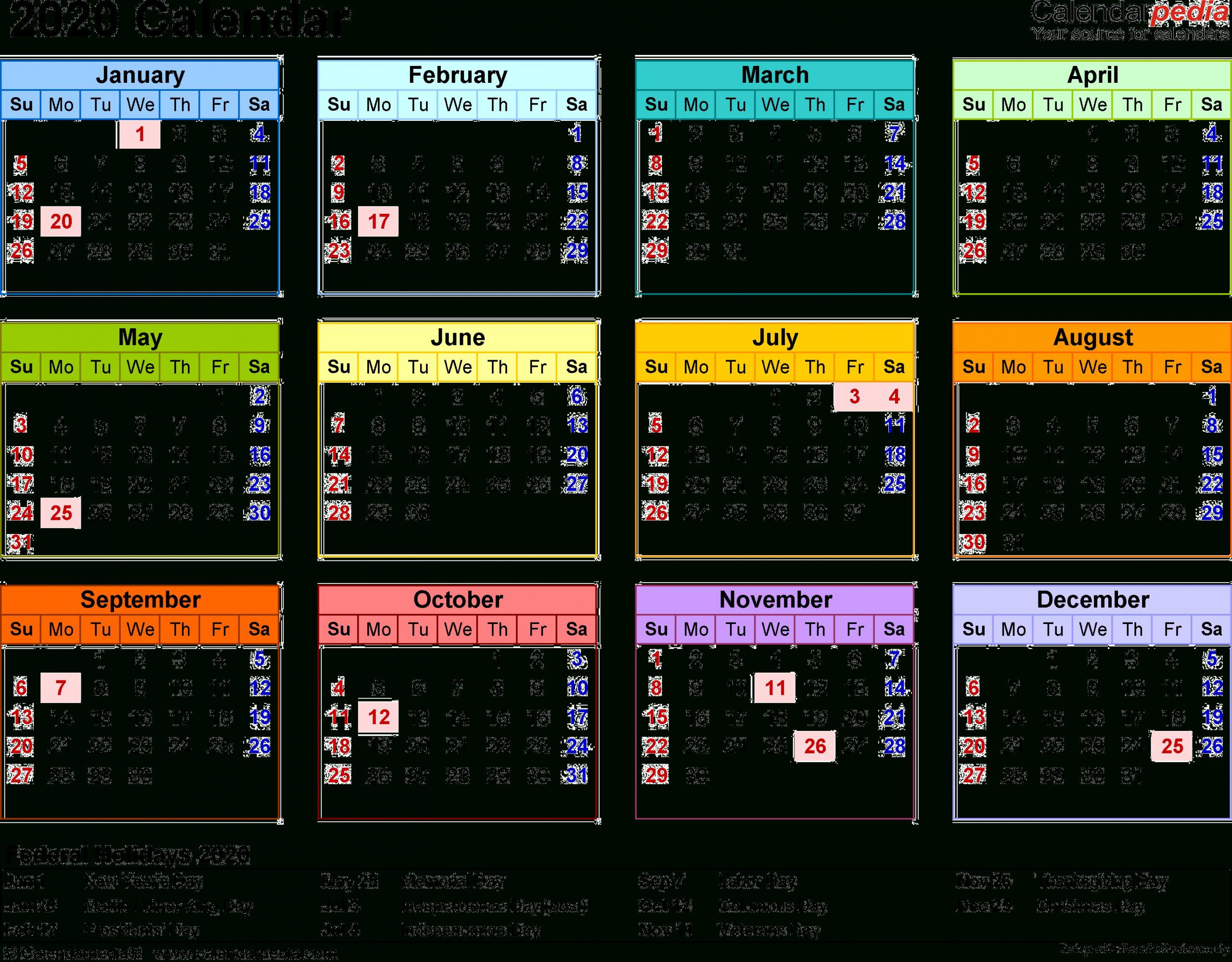 Get Kuwait 2020 Calendar | Calendar Printables Free Blank