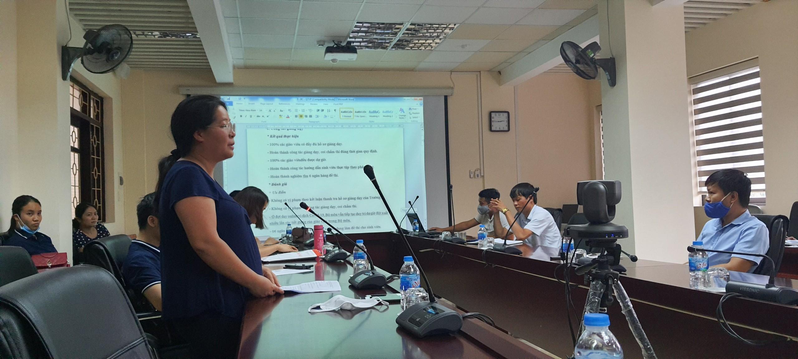 Hội Nghị Rút Kinh Nghiệm Năm Học 2019-2020 Và Định Hướng
