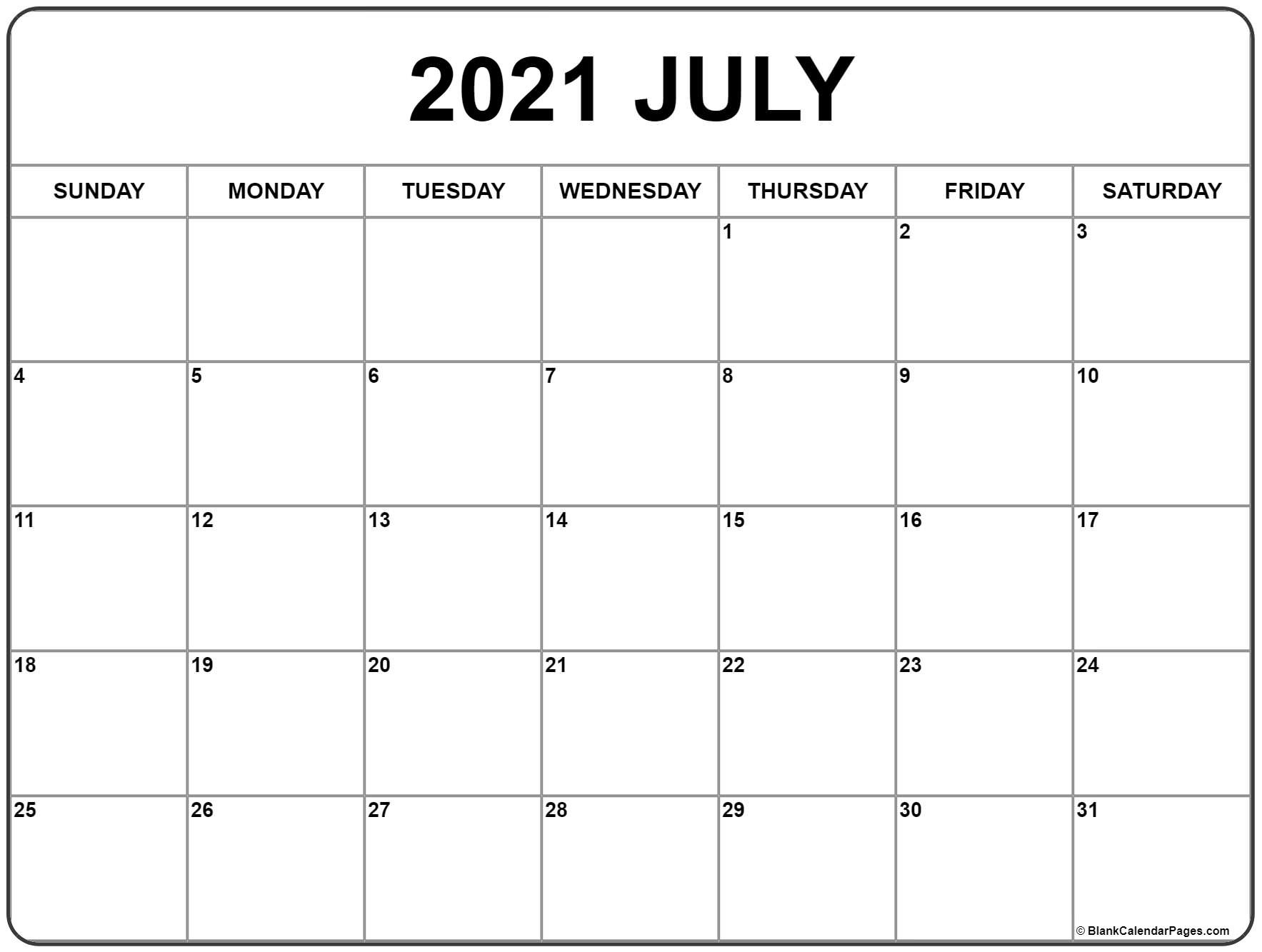 July 2020 – Page 2 – Template Calendar Design