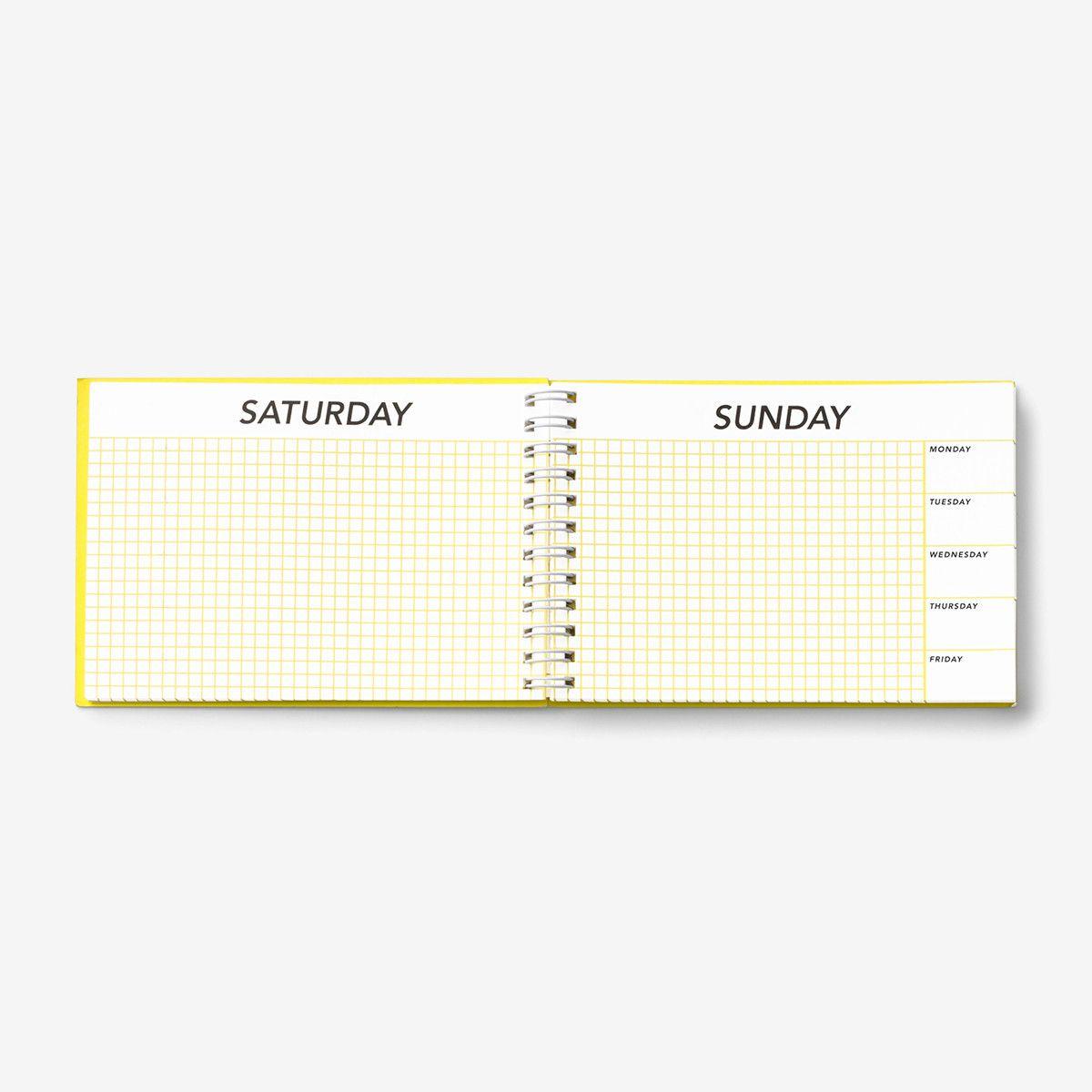 Kate Spade Saturday | Weekend-Only Calendar | Kate Spade
