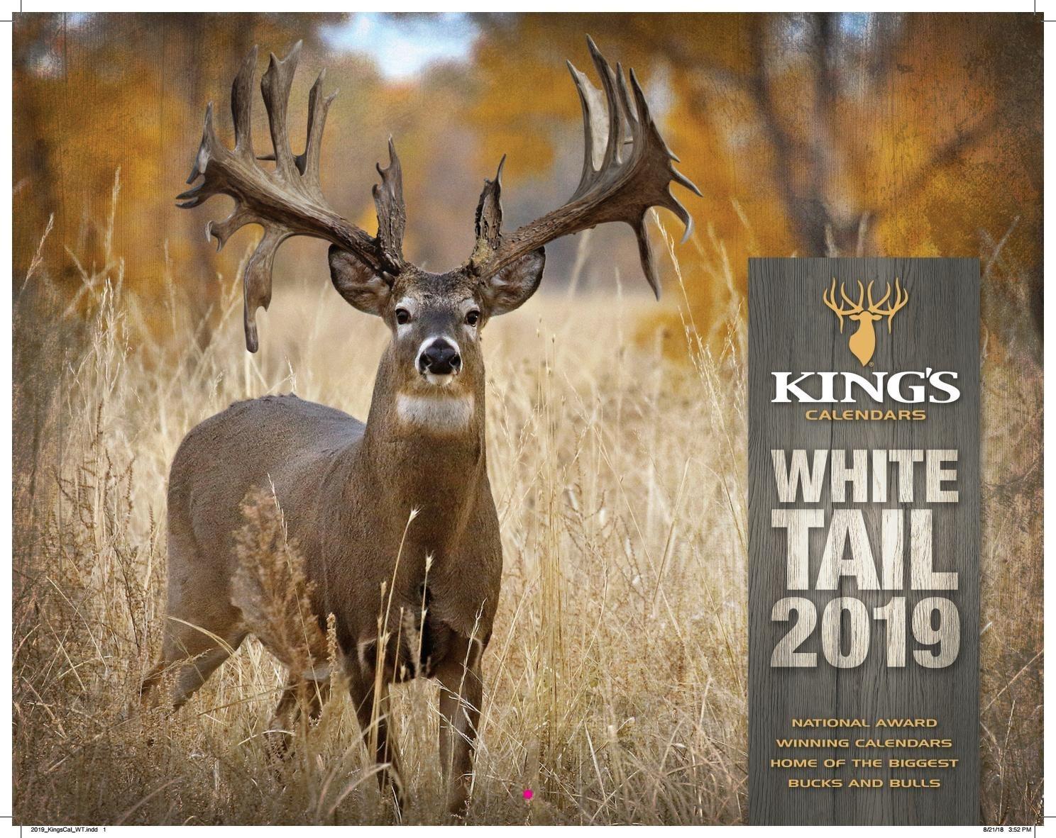 Legendary Whitetails Calendar 2020 – Template Calendar Design