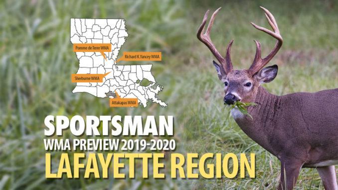 Louisiana's Wma Preview 2019-20 - Lafayette Region