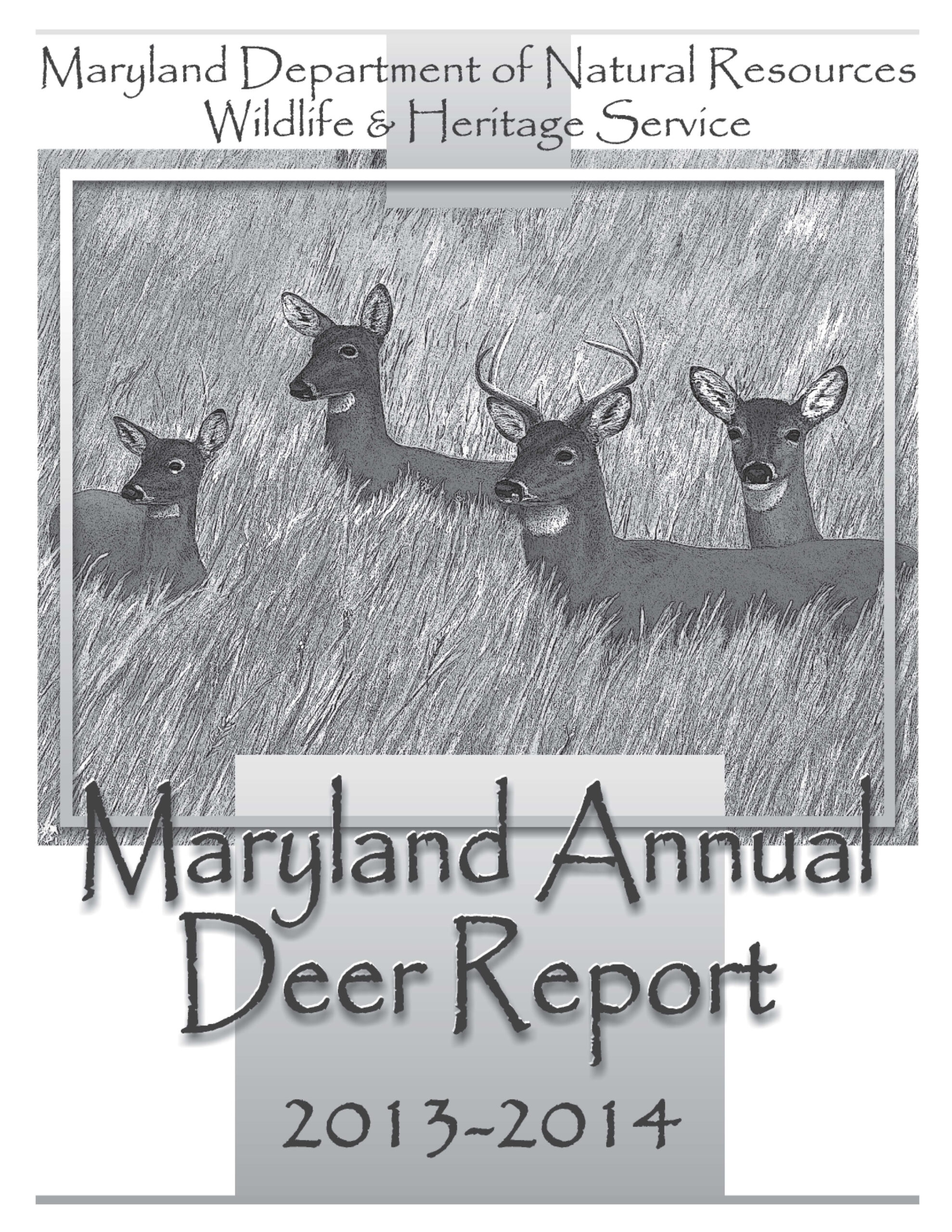 Md_Annual_Deer_Report13-14_Page_01 - We'Re All About
