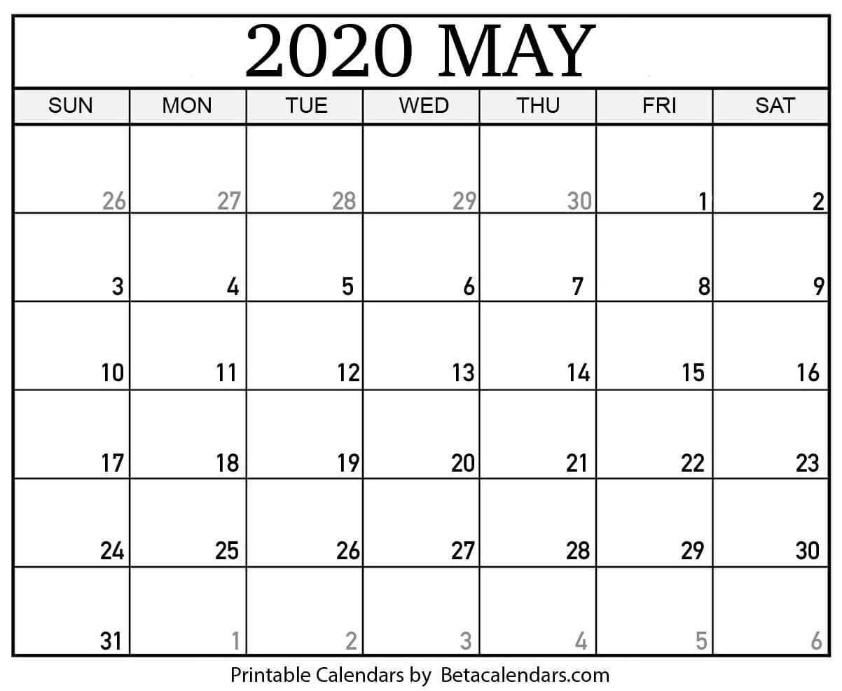 Military Julian Calendar 2020 Printable – Template