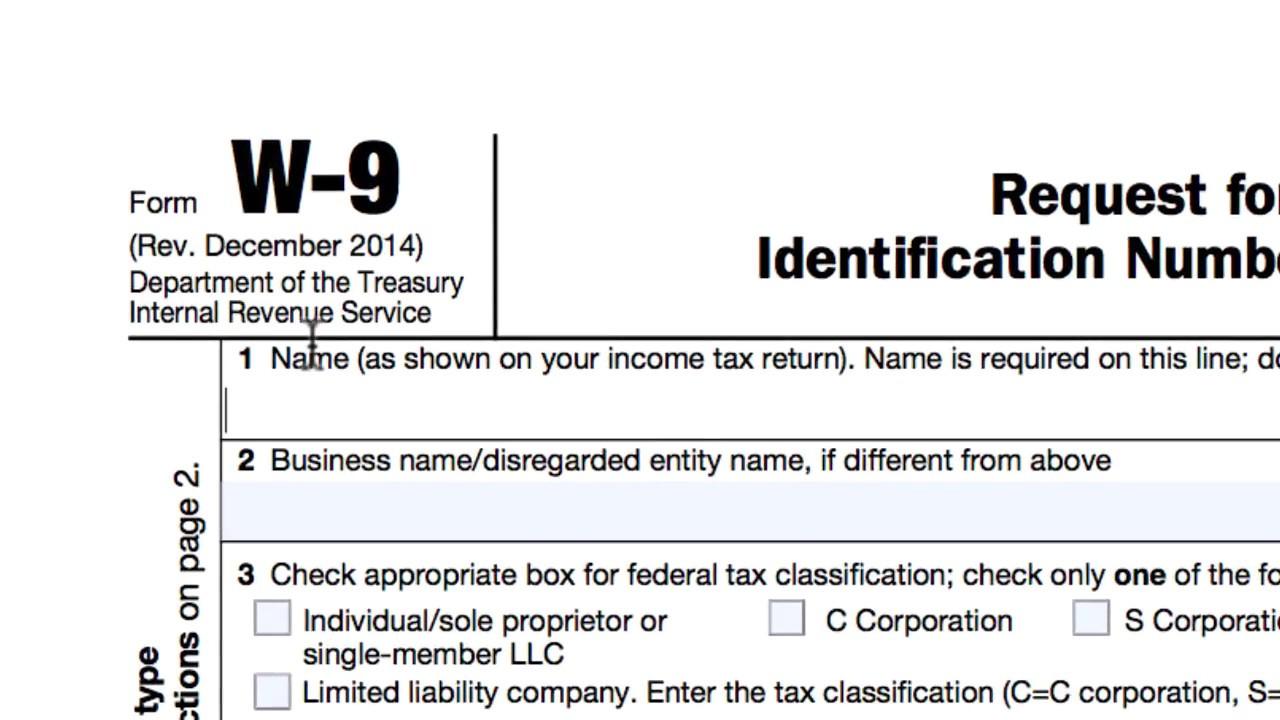 Missouri W-9 Form Printable 2020 | Example Calendar Printable