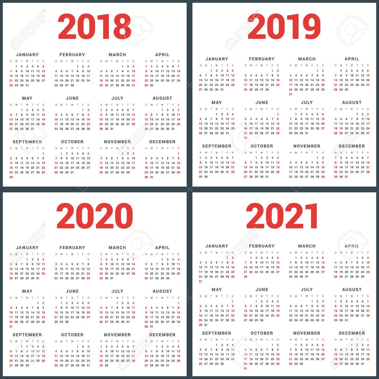 Monday Through Friday Calendar 2019 2020 | Calendar