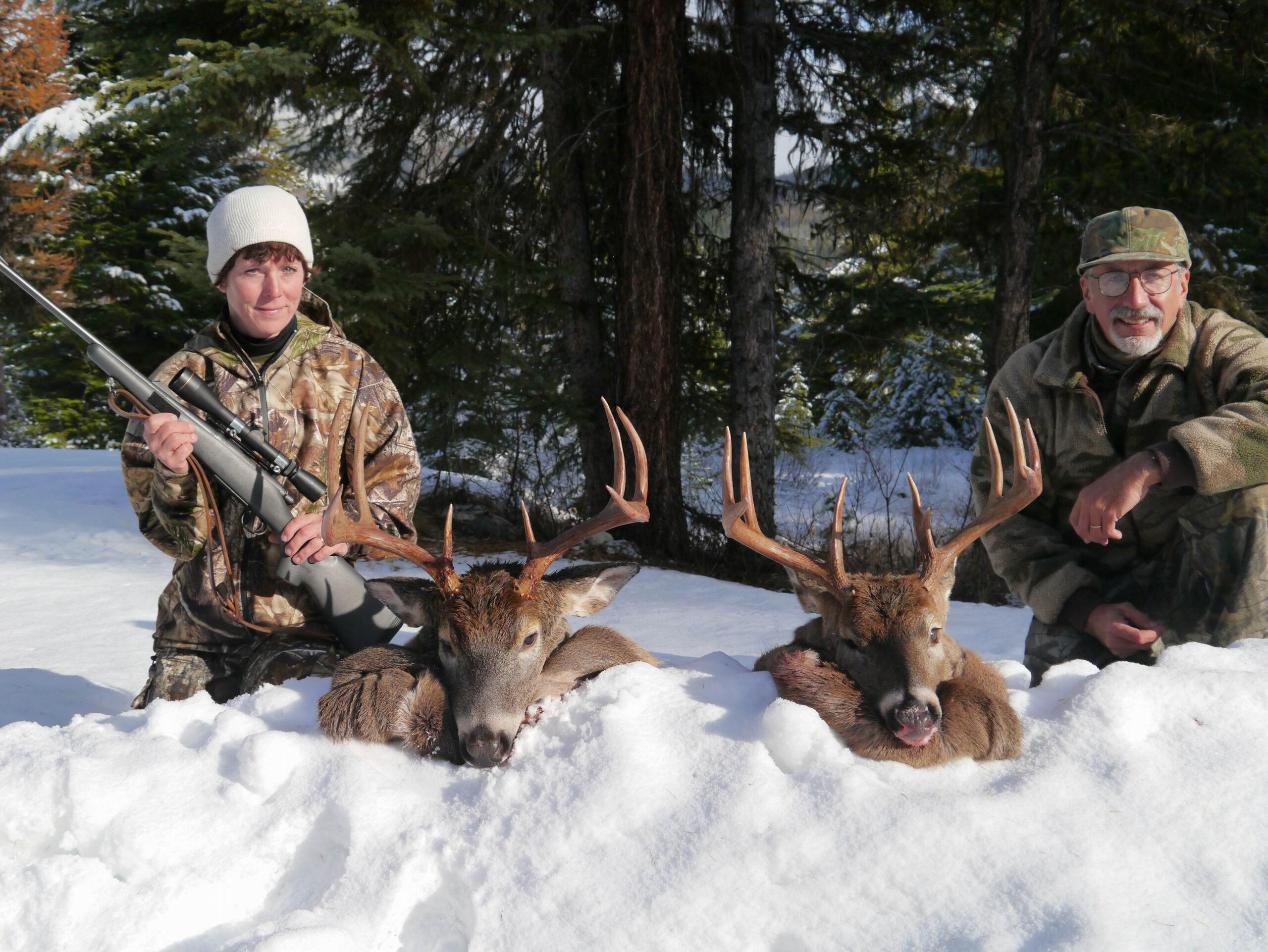 Montana White Tail Deer Rut 2021