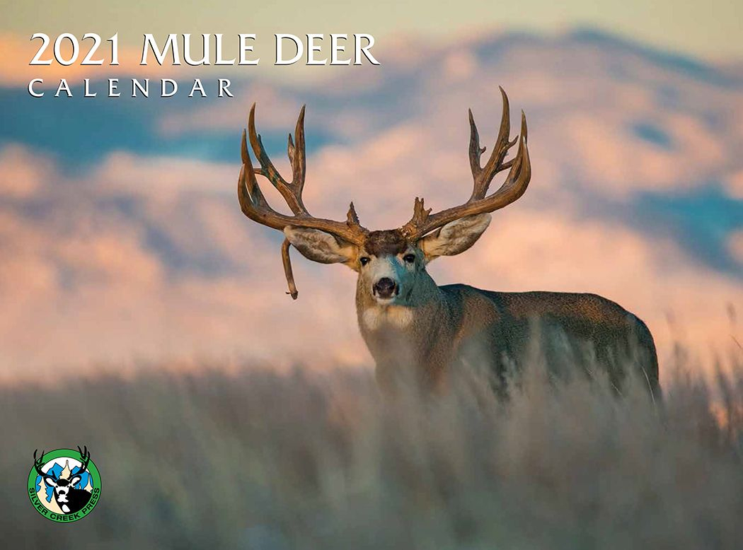 Mule Deer 2021 Wall Calendar