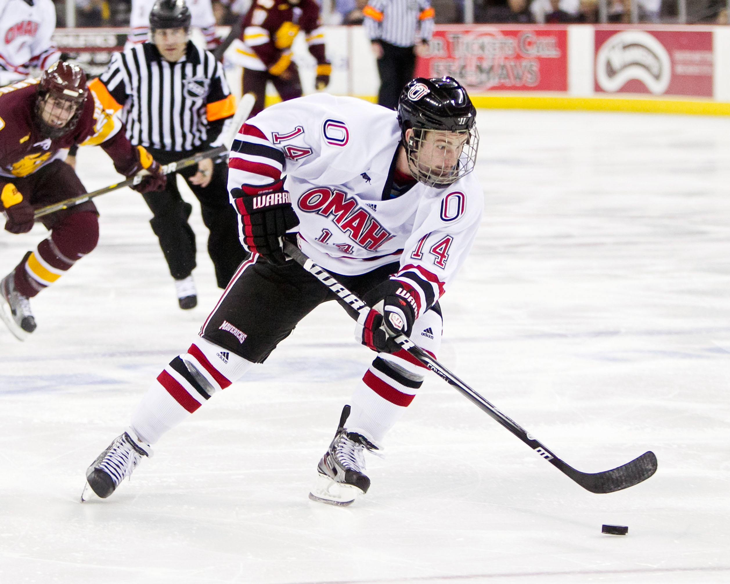 Nchc Rematch: Uno Looks To Break Out Of Mid-Season Rut