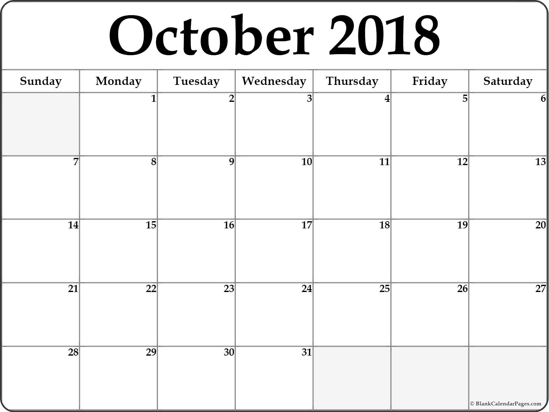 October-2018-Calendar-B4 - Mainstage Center For The Arts