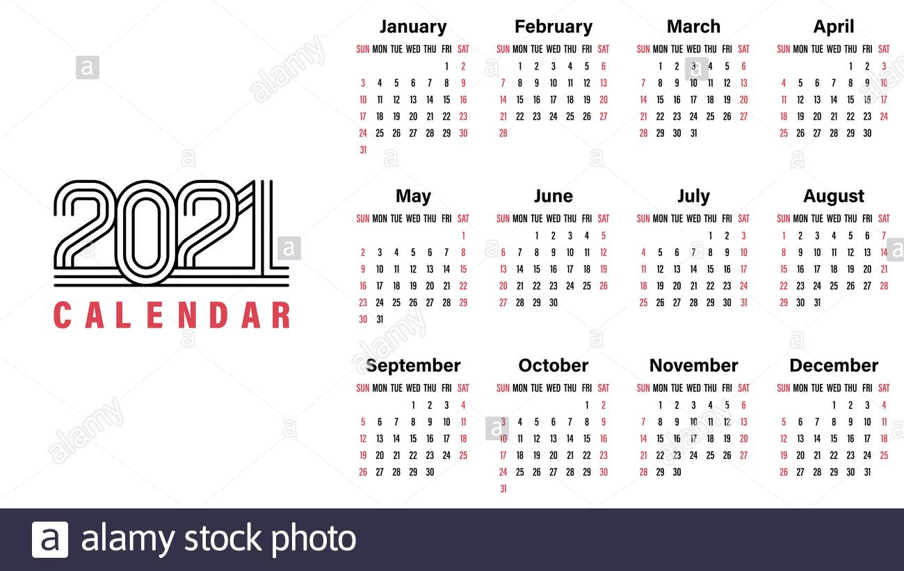 Page 2 - Calendar 2021 High Resolution Stock Photography