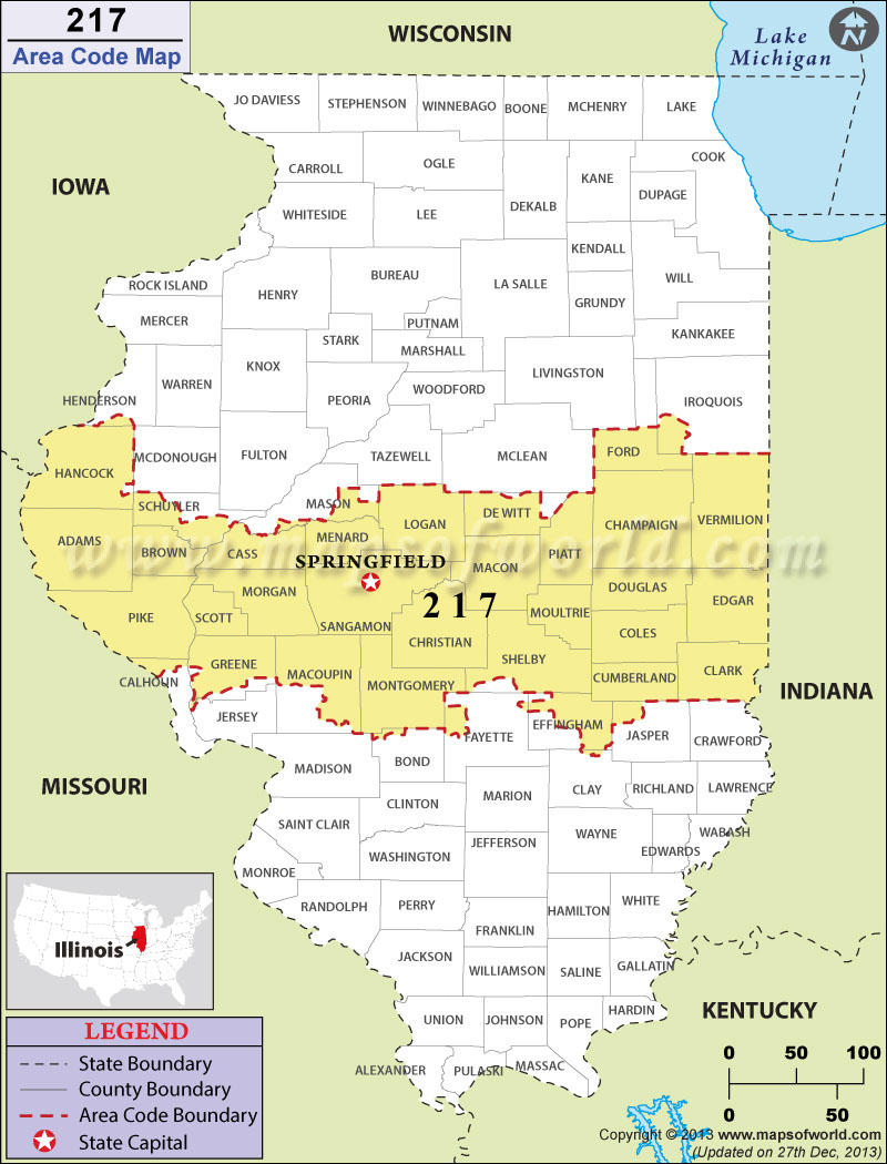 Parts Of Central Illinois To Get A New Area Code | Wsiu