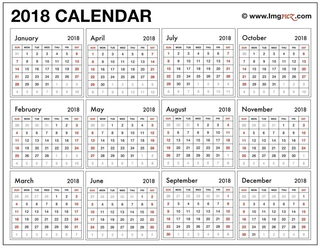 Printable Calendar Large Print | Ten Free Printable