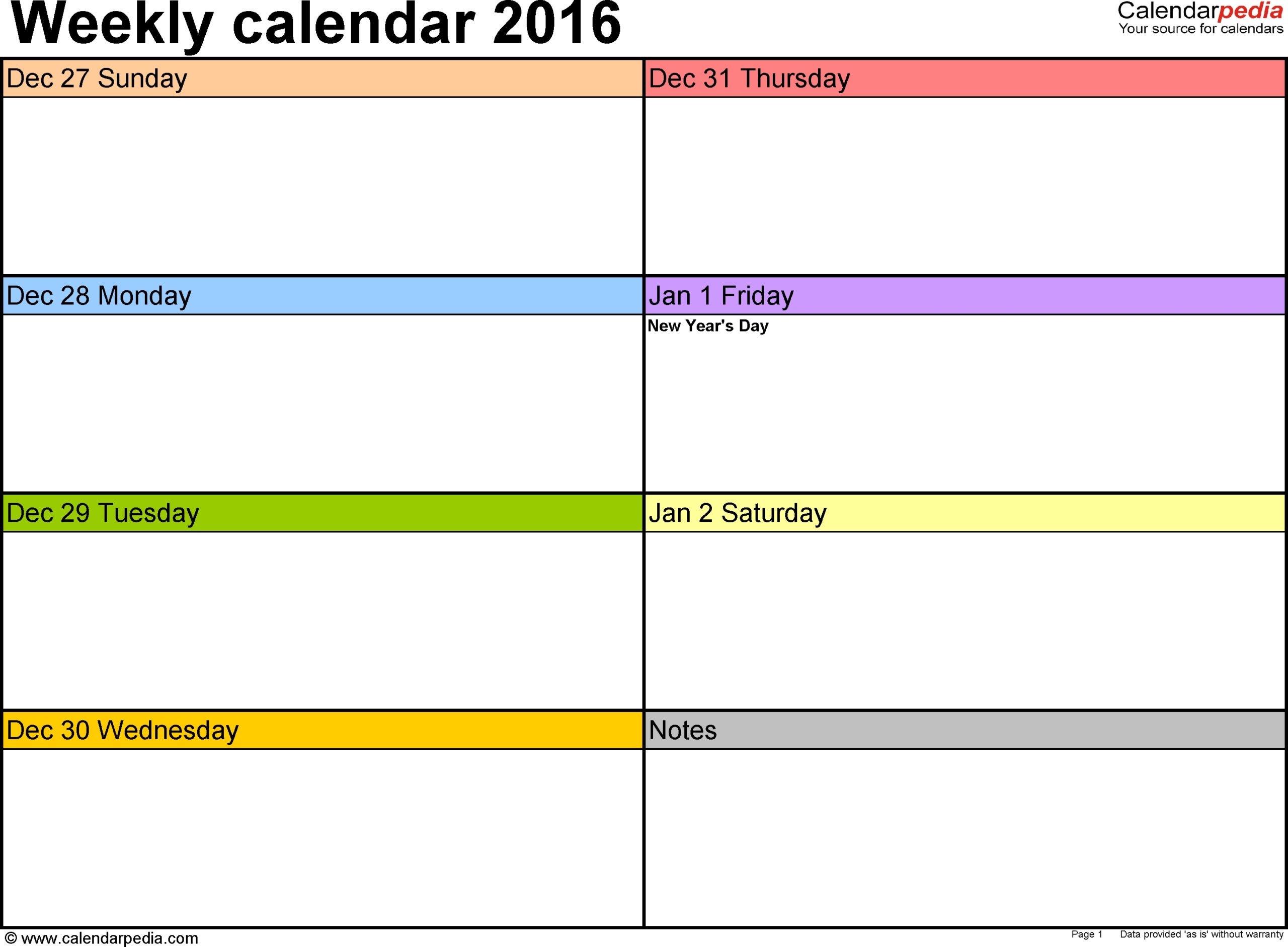Printable Calendar Sunday Through Saturday | Month