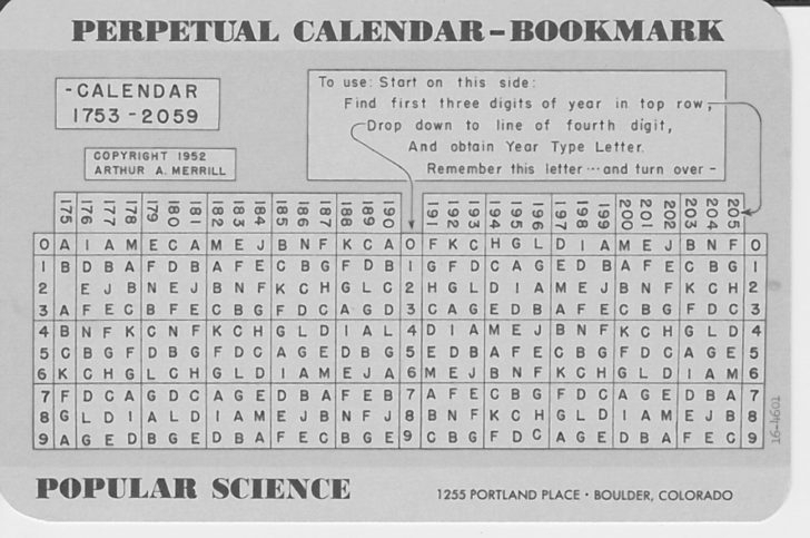 Printable Depo-Provera Perpetual Calendar | Calendar Image