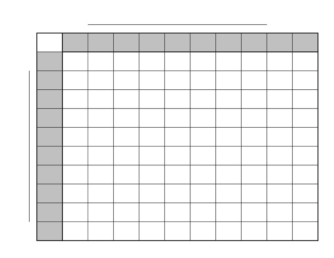 Printable Football Squares   101 Printable