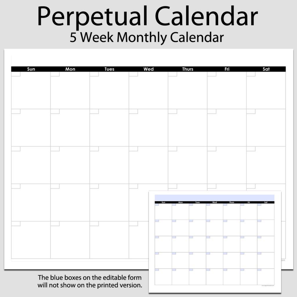 Printable Monthly Calendar 8.5 X 11 | Printable Calendar 2020