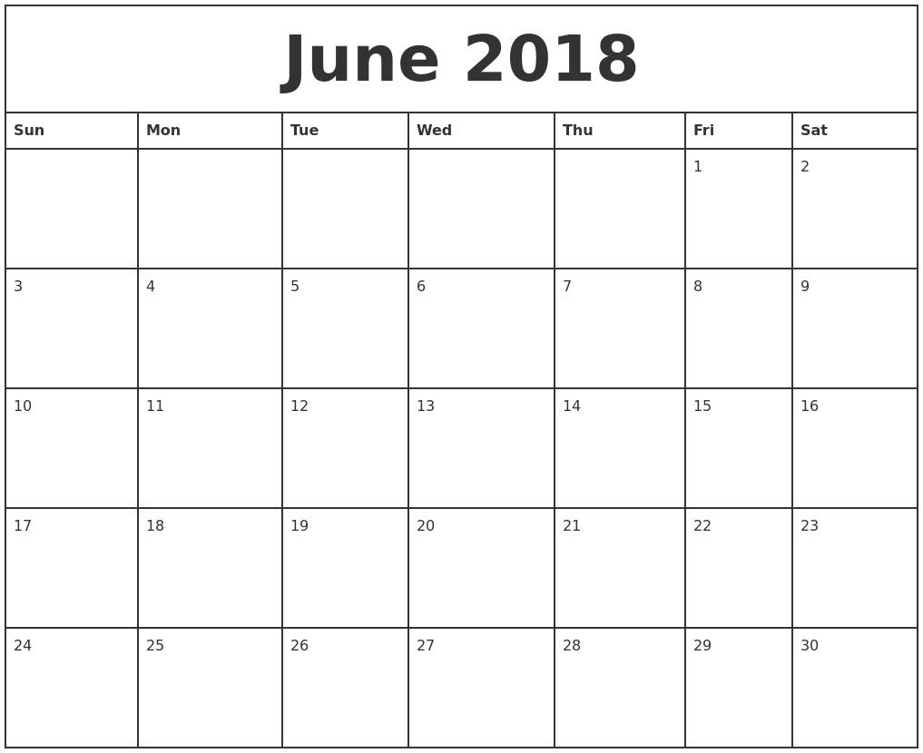 September 2018 – Page 3 – Template Calendar Design