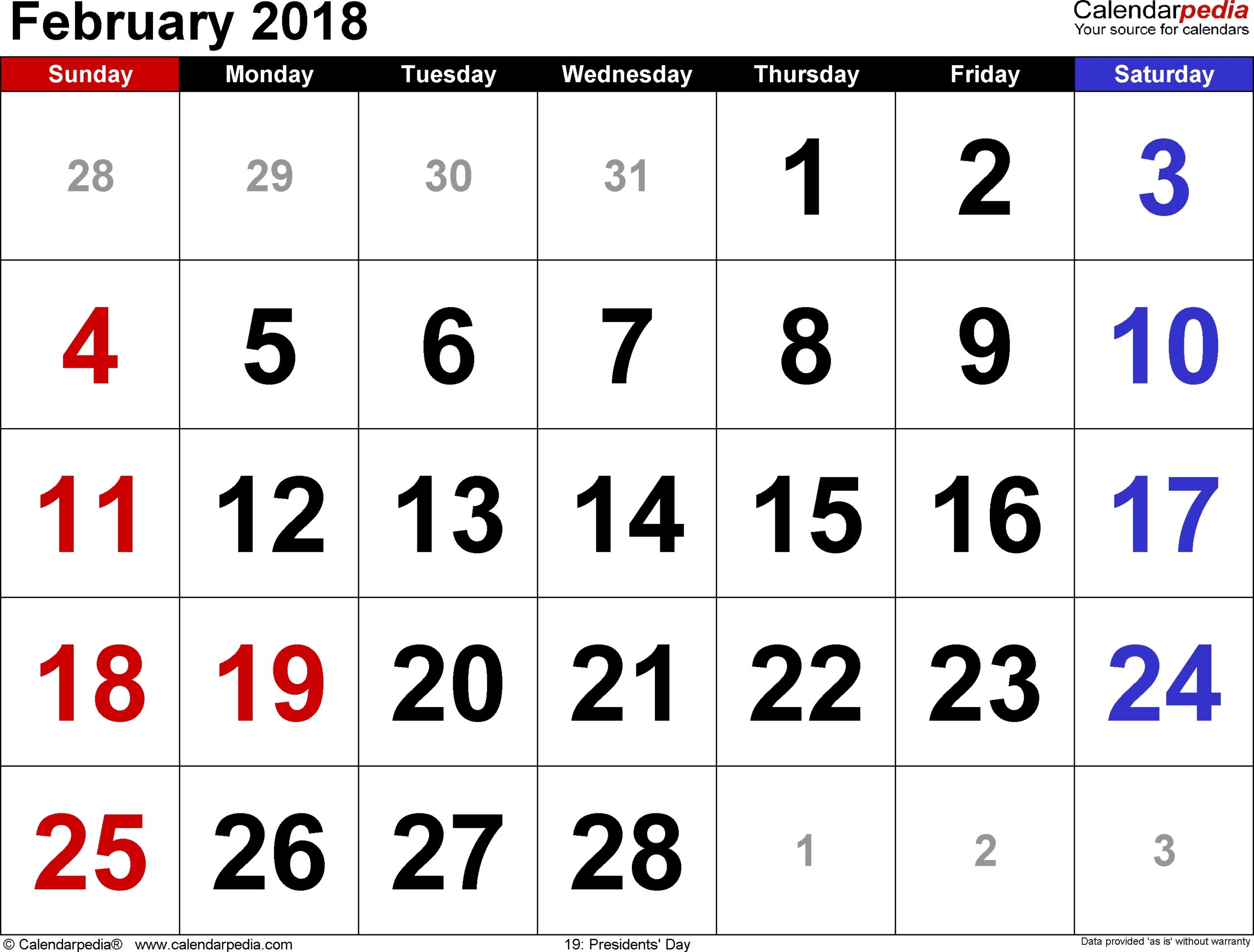 September 2018 – Page 6 – Template Calendar Design