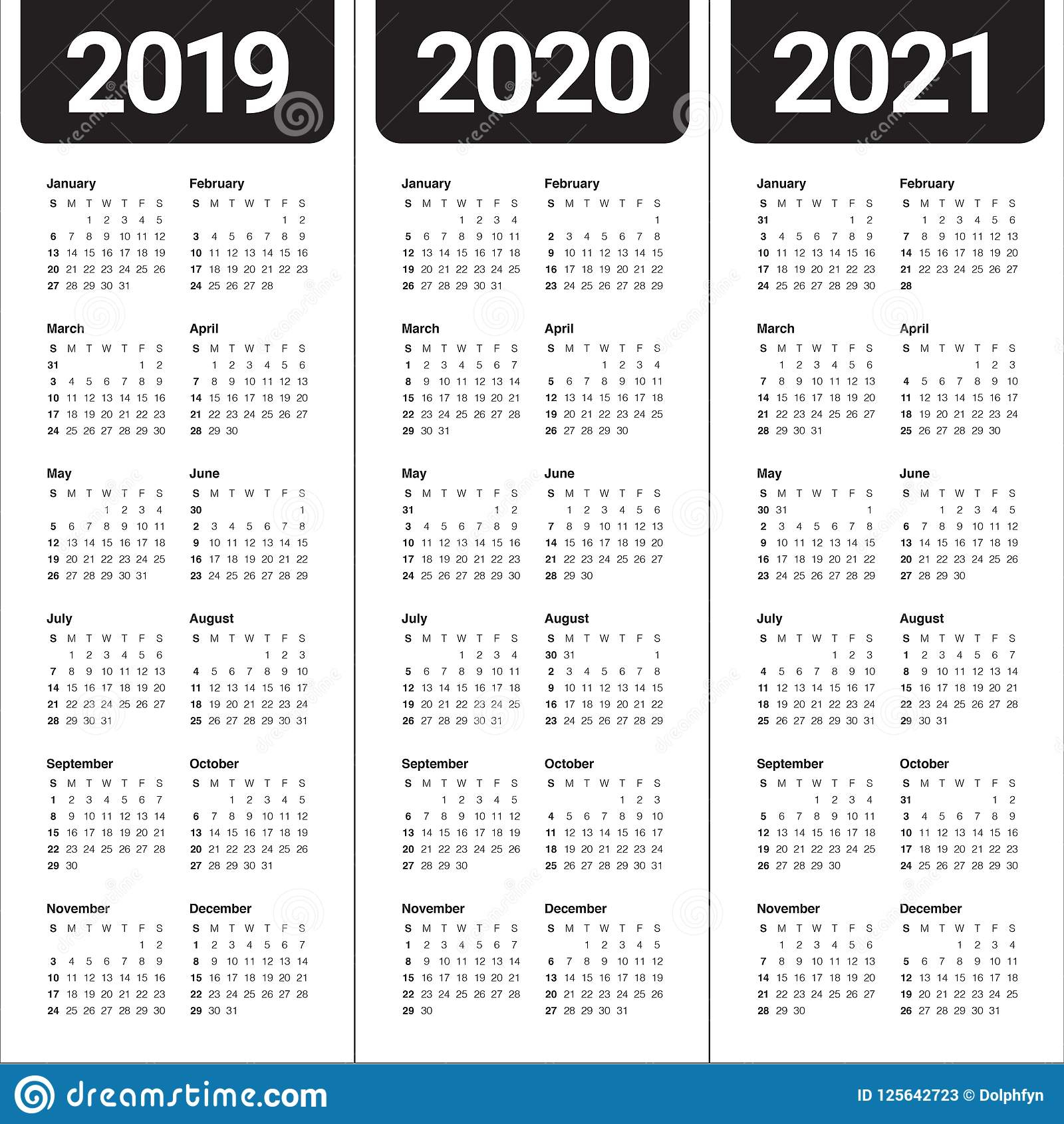 Take Calendar 2020 – 2021 Template | Calendar Printables