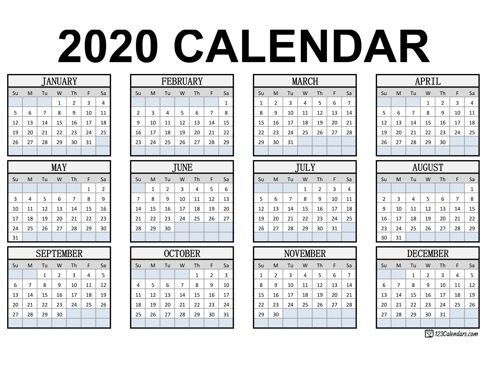Template For Pocket Sized Calendar - Calendar Inspiration