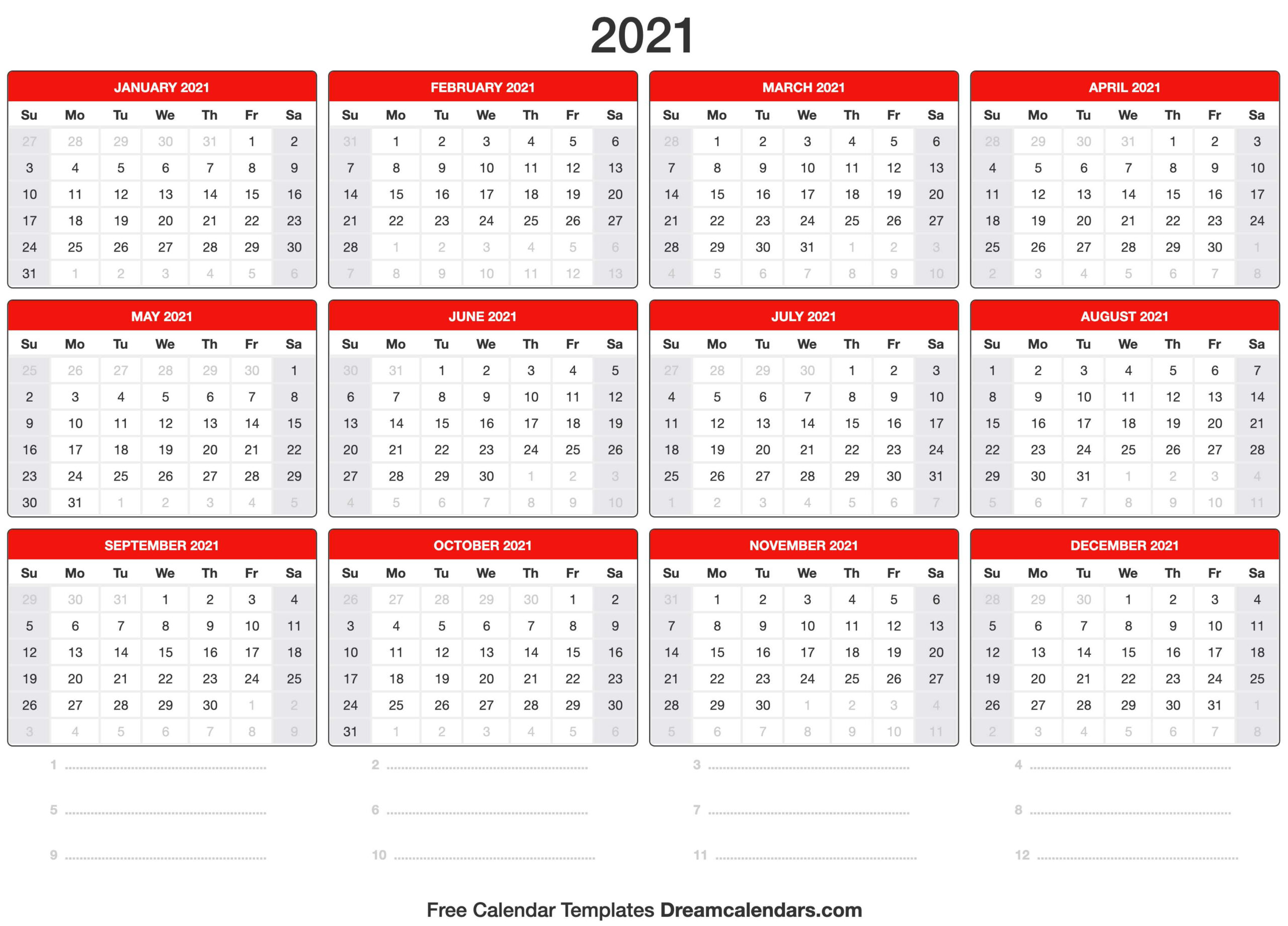 Terpopuler 39+ Kalender 2021