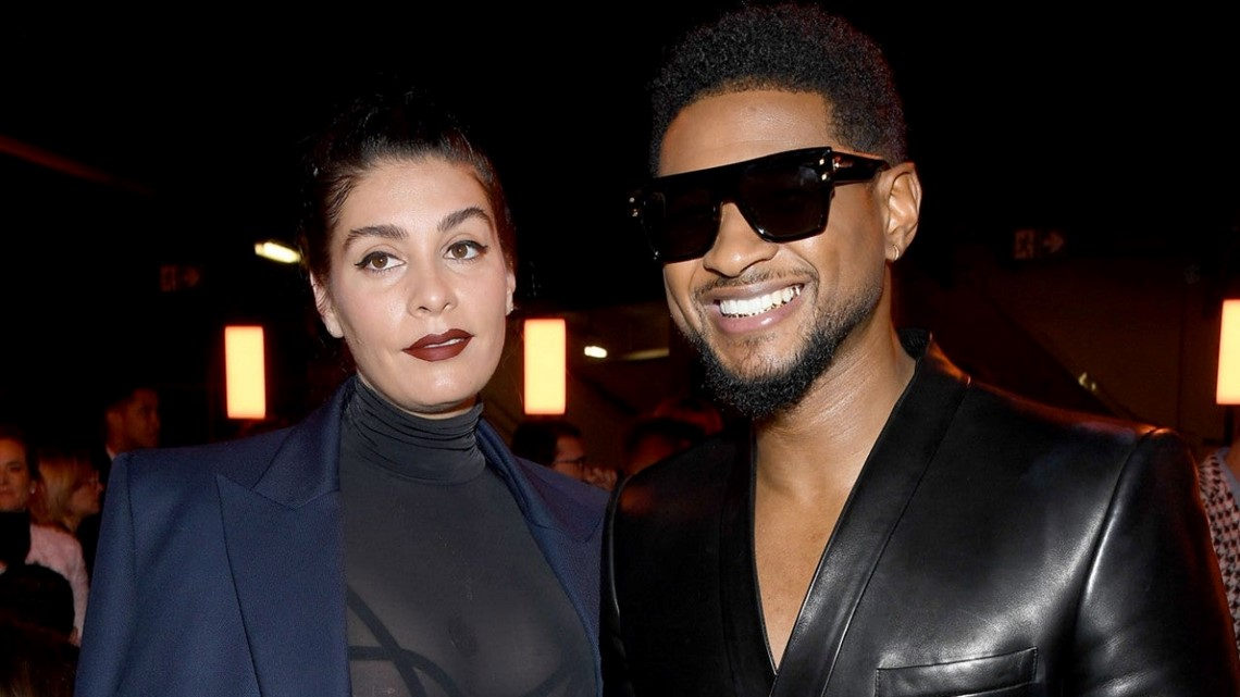 Usher Welcomes Baby Girl With Girlfriend Jenn Goicoechea