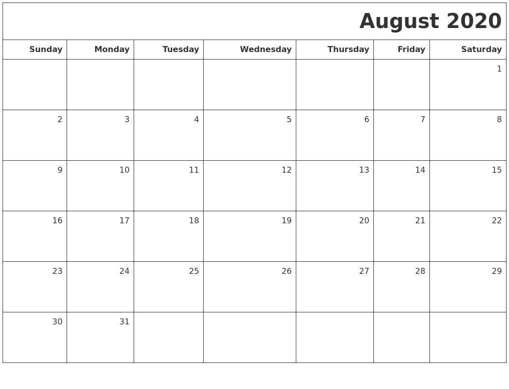 Vertex Monthly Calendar 2020 | Calendar Ideas Design Creative