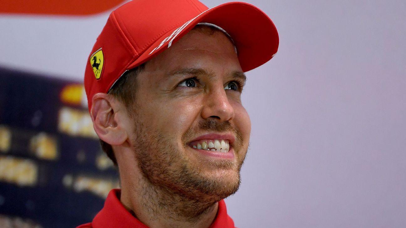 Vettel Names 2020 Car Lucilla