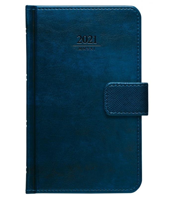 Weekly Pocket Diary Atlas S Poutkem Blue 2021