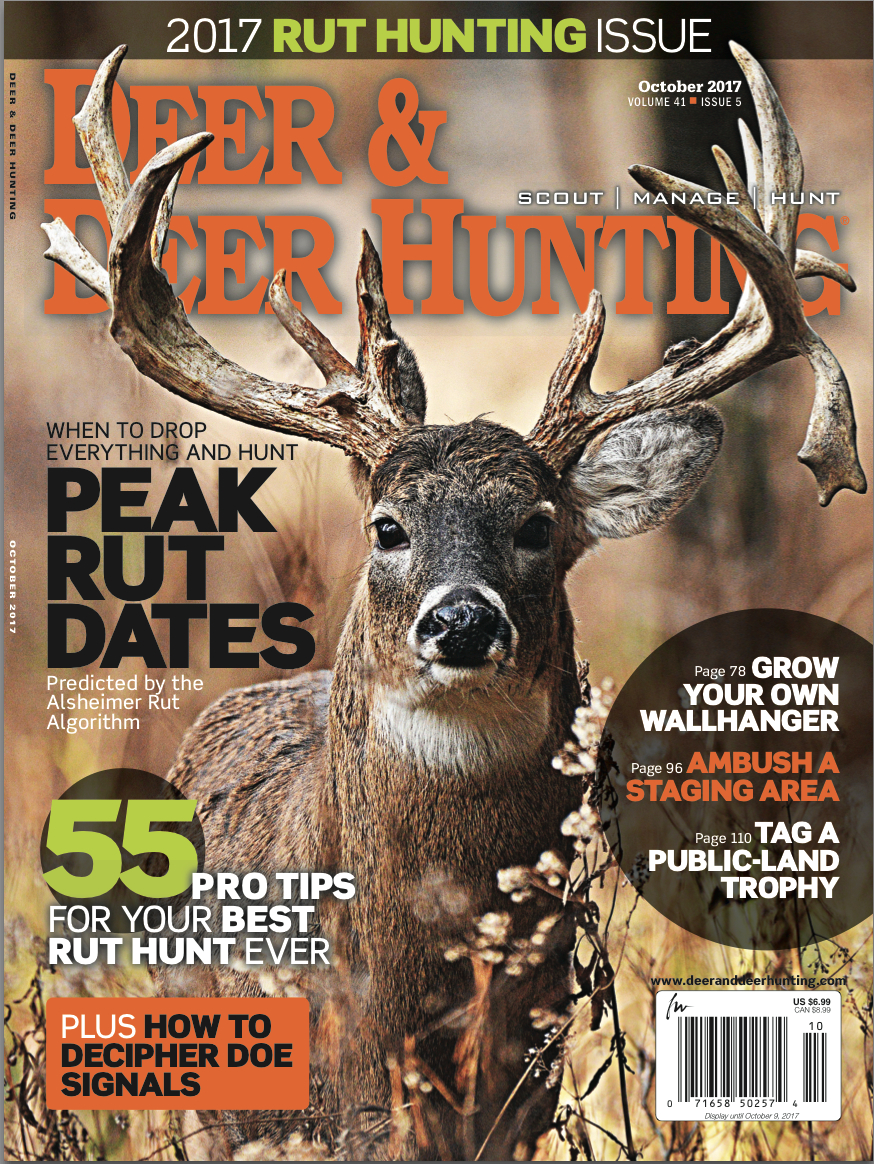 2017 Whitetail Rut Predictions Archives - Deer And Deer Hunting