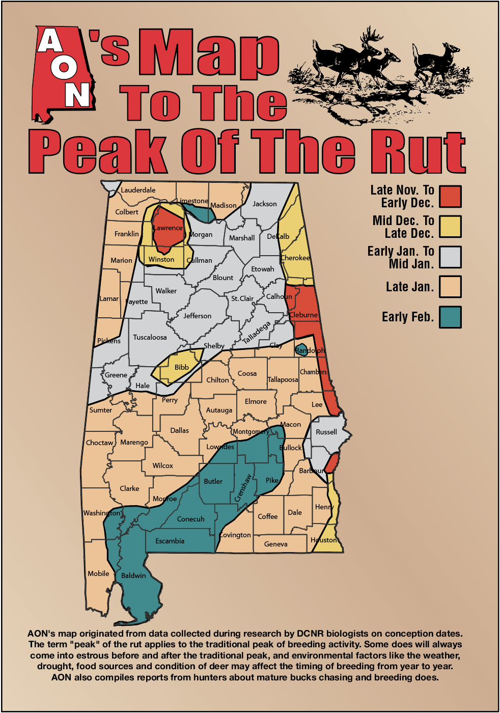 Aon'S Map To The Peak Of The Rut