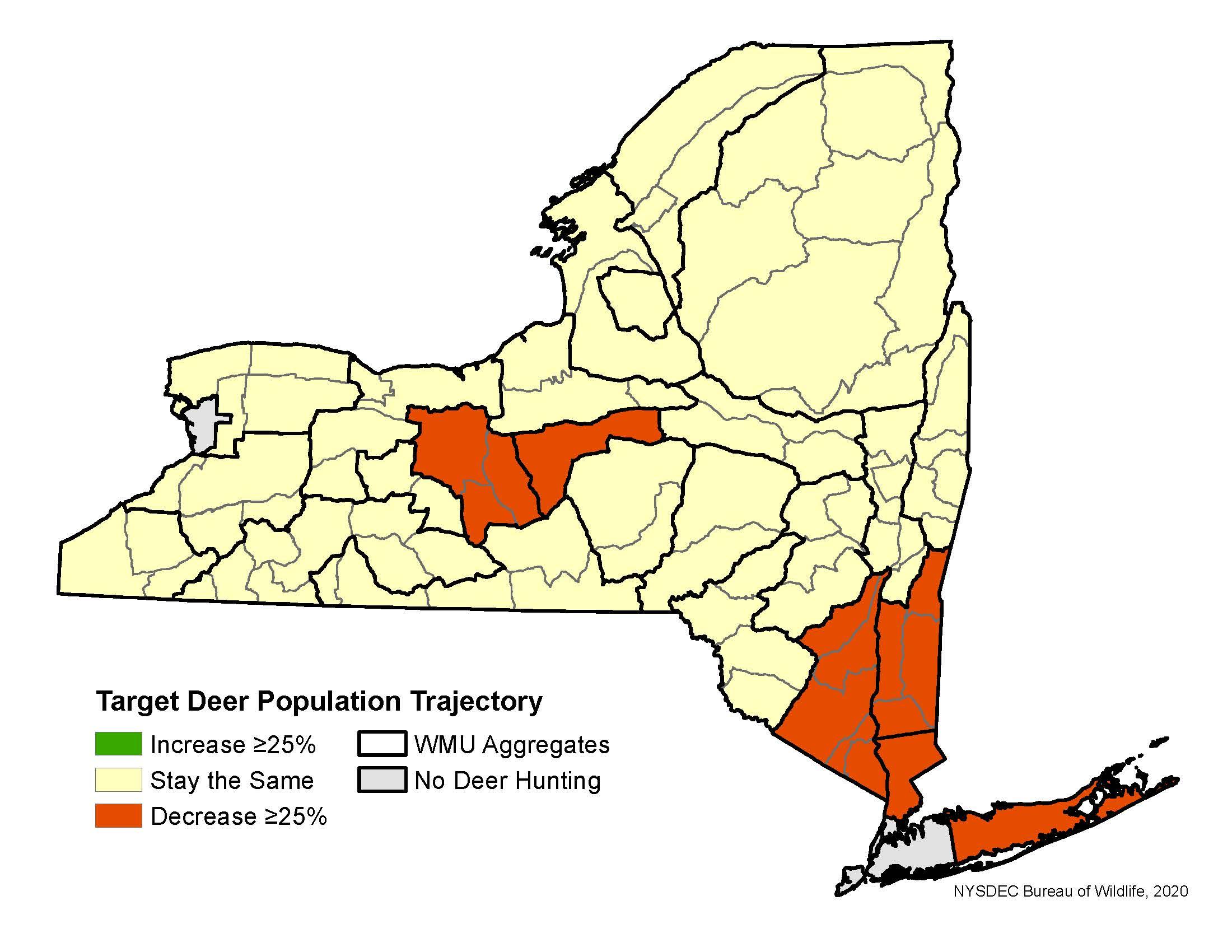 Deer Hunting Season Forecasts - Nys Dept. Of Environmental