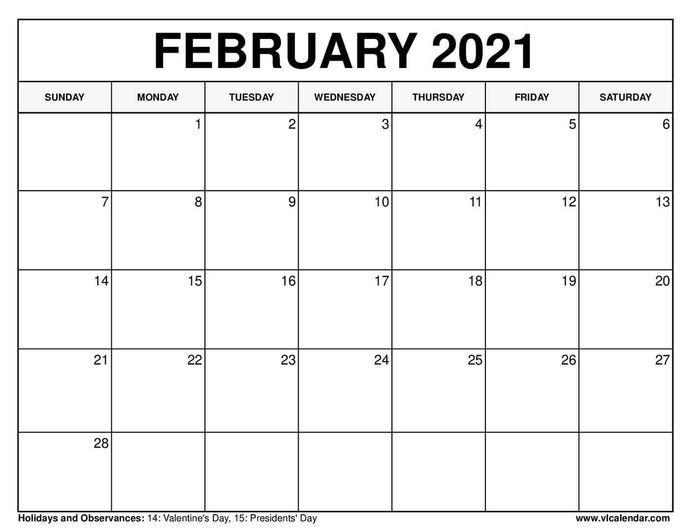 Free Great Calendar