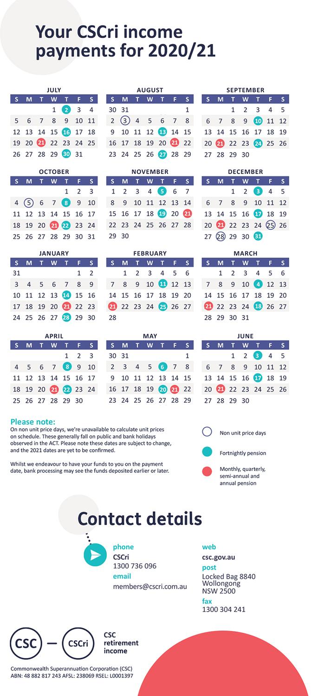 Payday | Pensioner | Retirement | Members - Csc