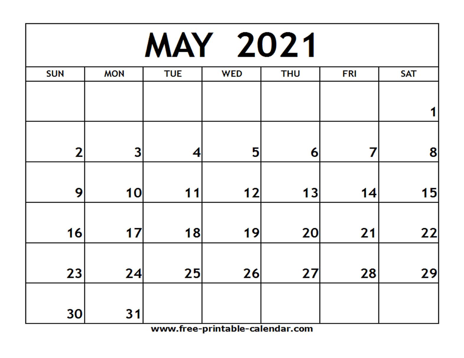Www Free Printable Calendar Com 2021