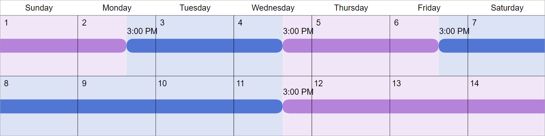 2-2-5-5 Visitation Schedule Examples: How Does It Work?