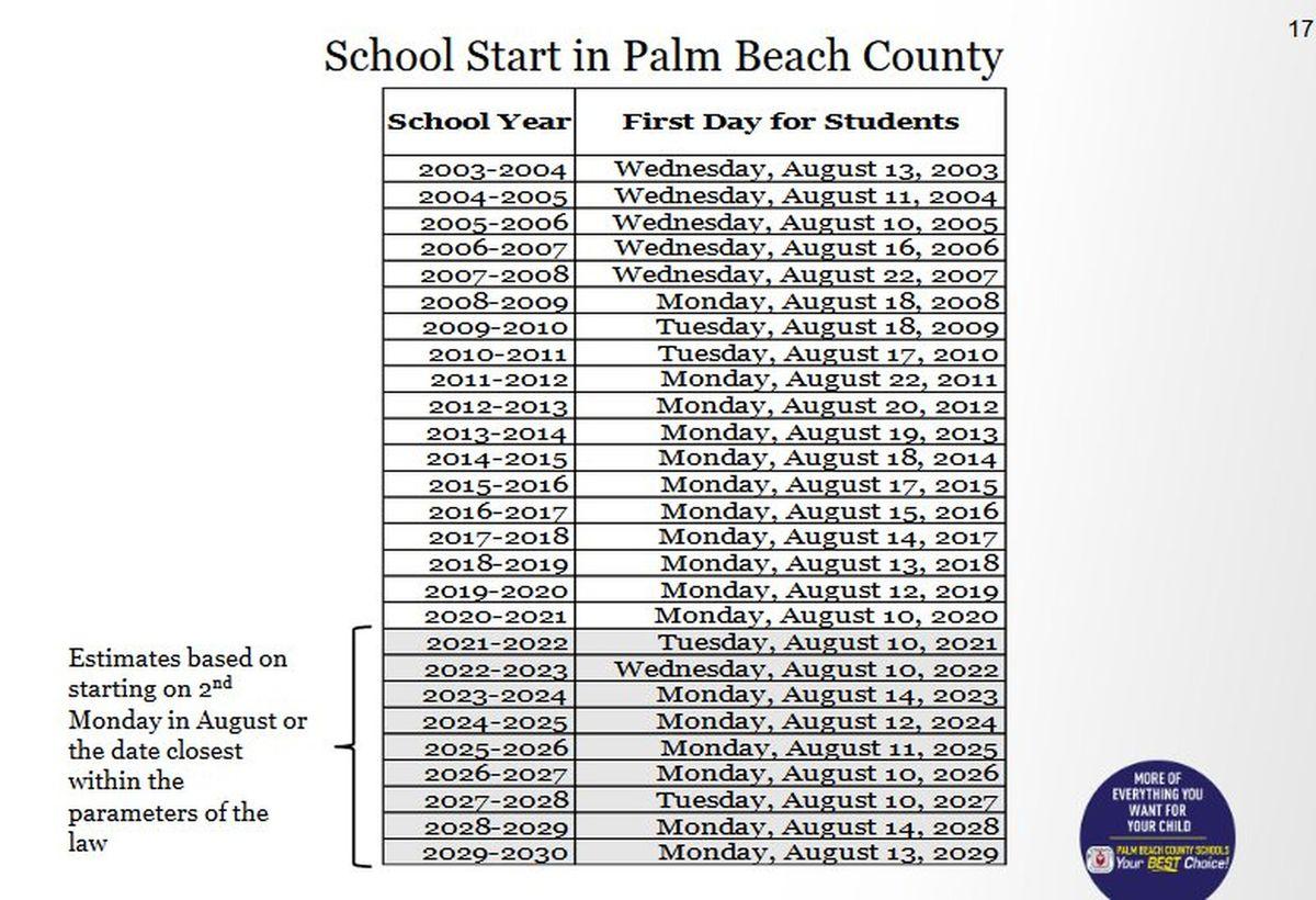 2020 And 2021 School Calendar Miami Dade