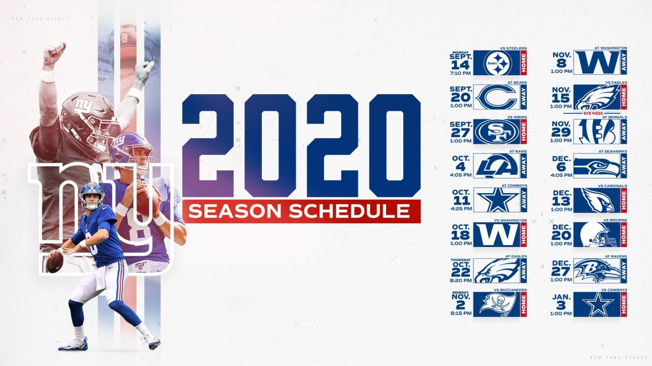 2020 Nfl Strength Of Schedule: Giants Have Seventh-Easiest Path