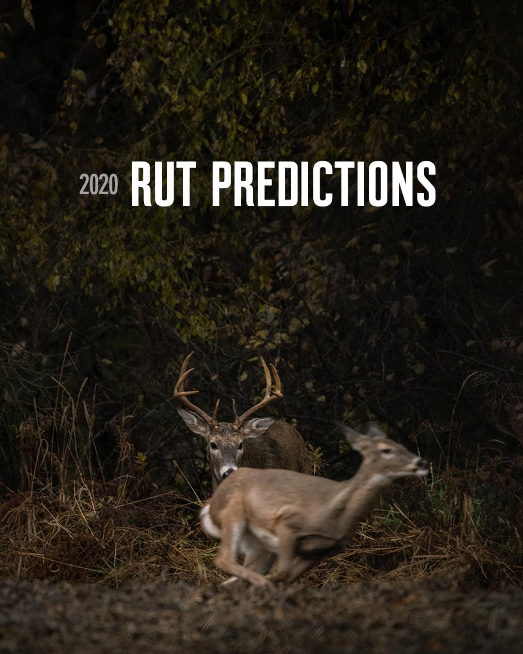 2020 Rut Predictions | Onx Maps