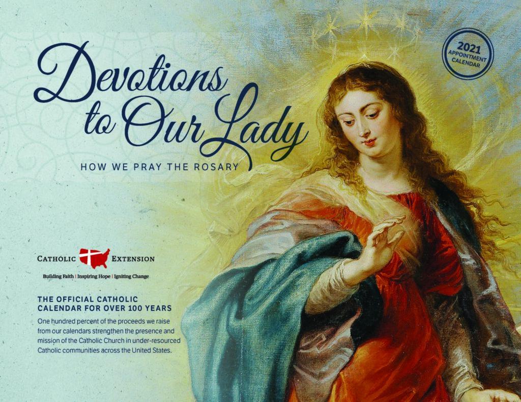 2021 Catholic Calendar - Catholic Extension