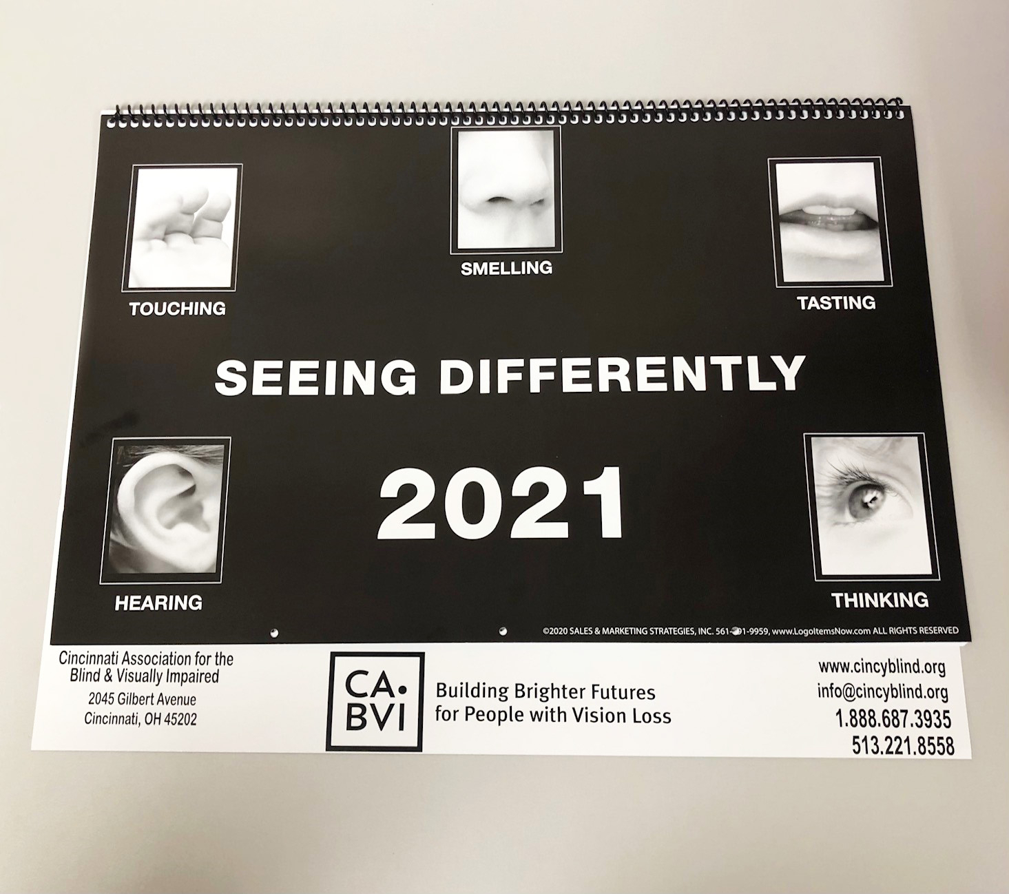 2021 Large Print Calendar