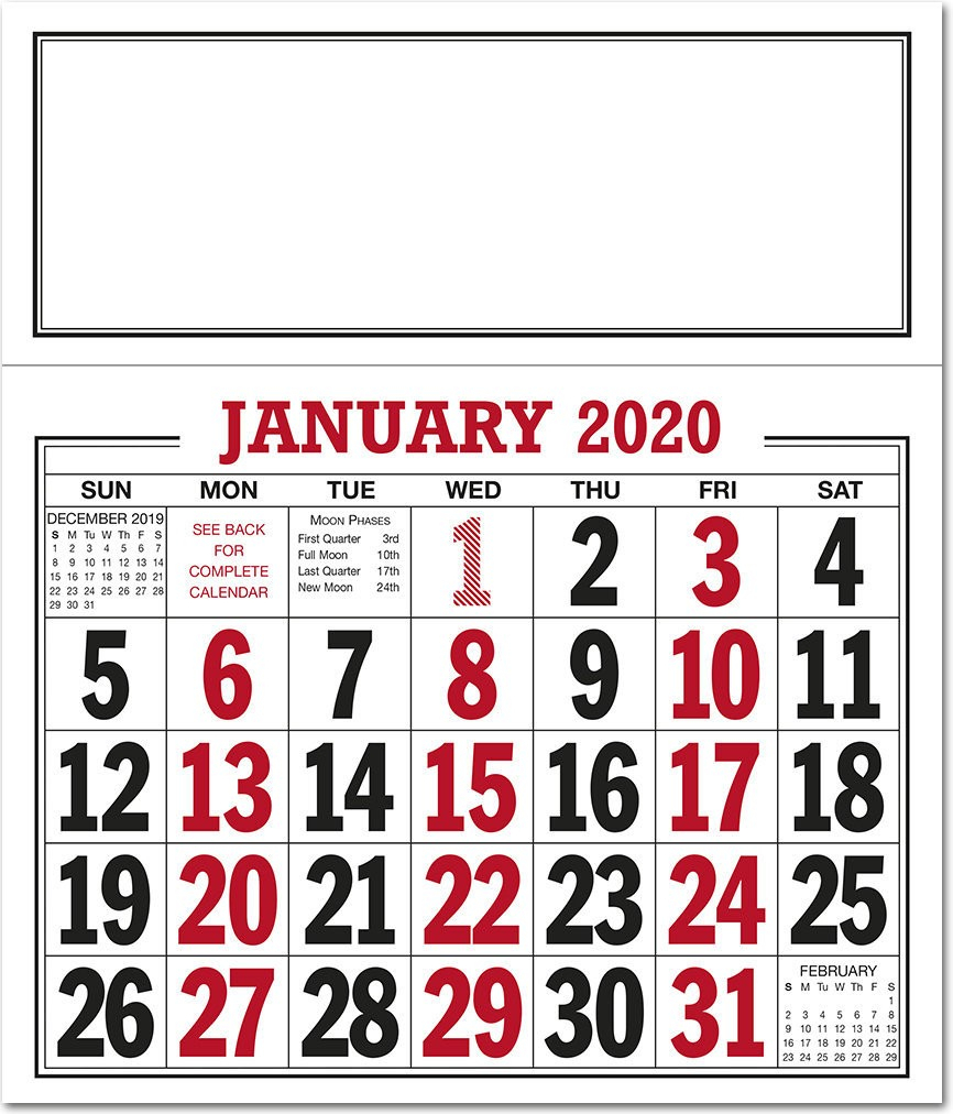 Bold Figure Calendar 2021 - Rose Calendars