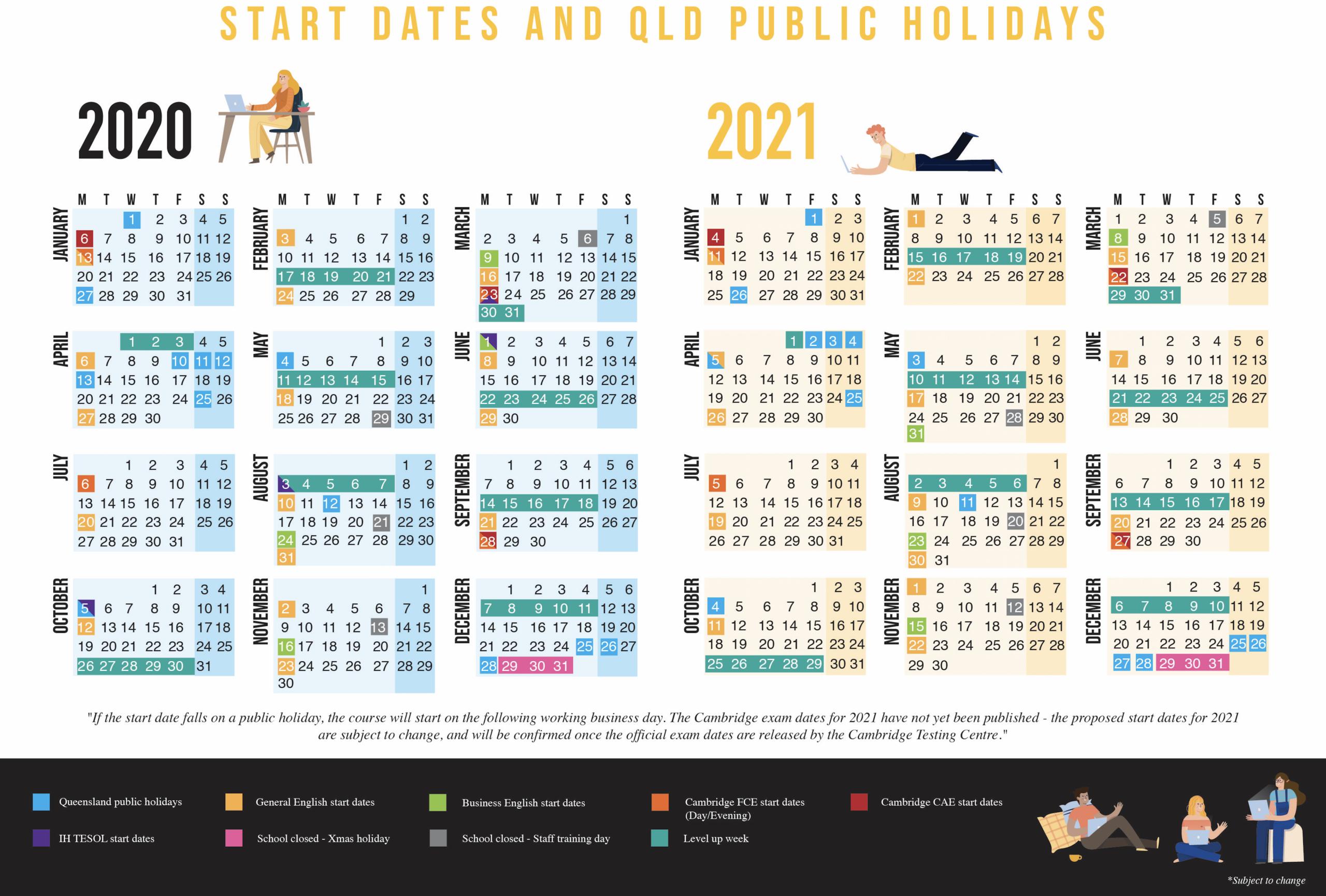 Calendar 2020 Qld | Calendar For Planning